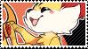 Fennekin stamp by pulsebomb