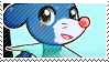 Popplio stamp by pulsebomb
