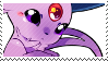 Espeon stamp by pulsebomb