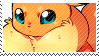 Flareon stamp by poppliio