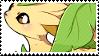 Leafeon stamp by babykttn
