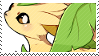 Leafeon stamp by poppliio