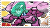 Pixel spray stamp: D.va by nintendoqs