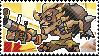 Pixel spray stamp: Junkrat by pulsebomb