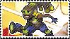 Pixel spray stamp: Lucio by babykttn