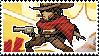 Pixel spray stamp: McCree