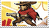Pixel spray stamp: McCree by pulsebomb