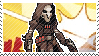Pixel spray stamp: Reaper by poppliio
