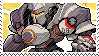 Pixel spray stamp: Reinhardt by nintendoqs