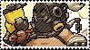 Pixel spray stamp: Roadhog by pulsebomb