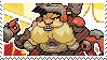 Pixel spray stamp: Torbjorn by nintendoqs