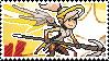 Pixel spray stamp: Mercy by babykttn