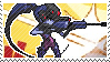 Pixel spray stamp: Widowmaker by pulsebomb