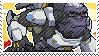Pixel spray stamp: Winston by nintendoqs