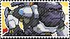 Pixel spray stamp: Winston by babykttn