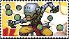 Pixel spray stamp: Zenyatta by babykttn