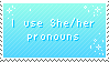 she/her by pulsebomb