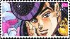 Josuke higashikata stamp