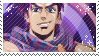 Joseph joestar stamp by pulsebomb