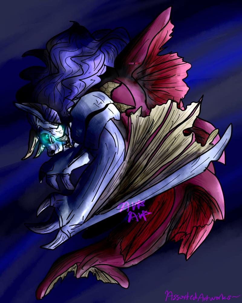 Siren Gyorg by AssortedArtworks
