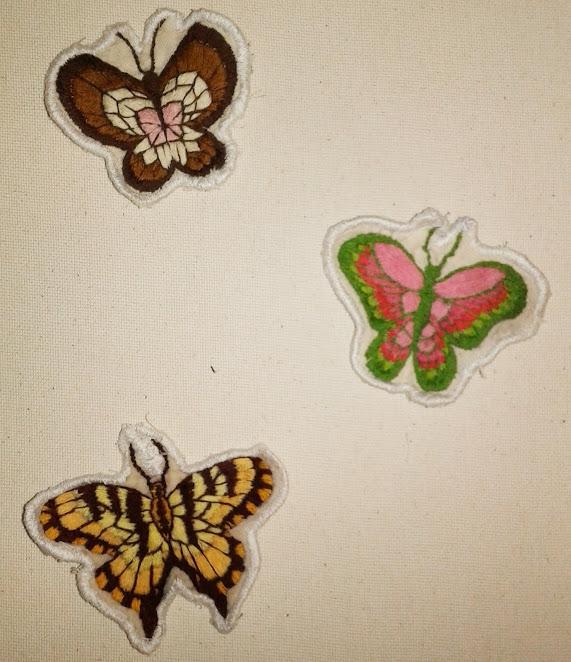 Frozen Dessert Butterfly Patches by AssortedArtworks