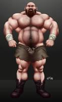 Huge brute by apbearg