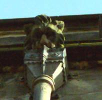 Church Gargoyle by billmbabblefotostok