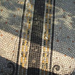 Outdoor mosaic small tiles 2 by billmbabblefotostok