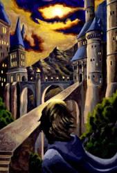 Hogwarts at Sunset