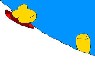 Snowboard Goldfish