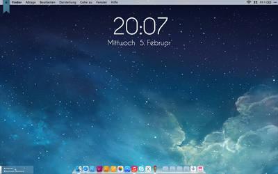 Mac OS X iOS 7 Themed by jpxyz