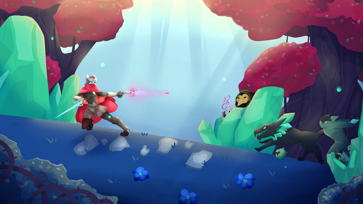 Hyper Light Drifter Desktop Wallpaper 2 By Rosepriince On Deviantart