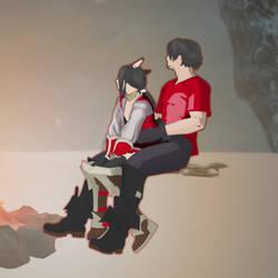 Matenka and Su by Suteki-Geon