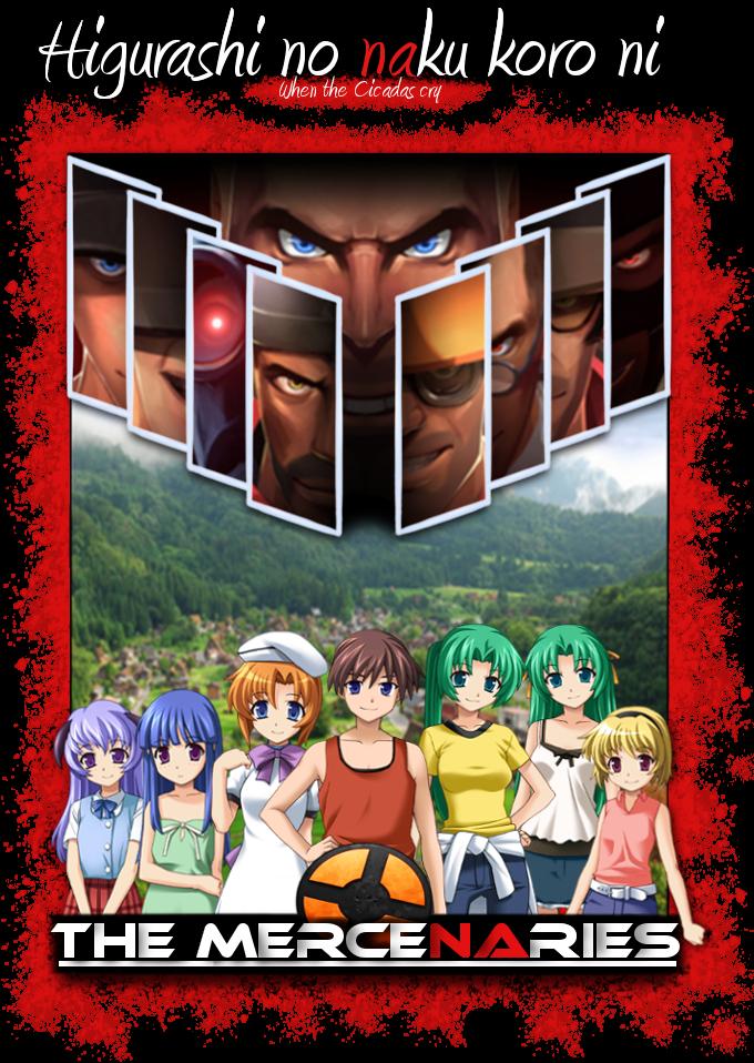 Higurashi no naku koro ni: The Mercenaries Cover by Matthew42