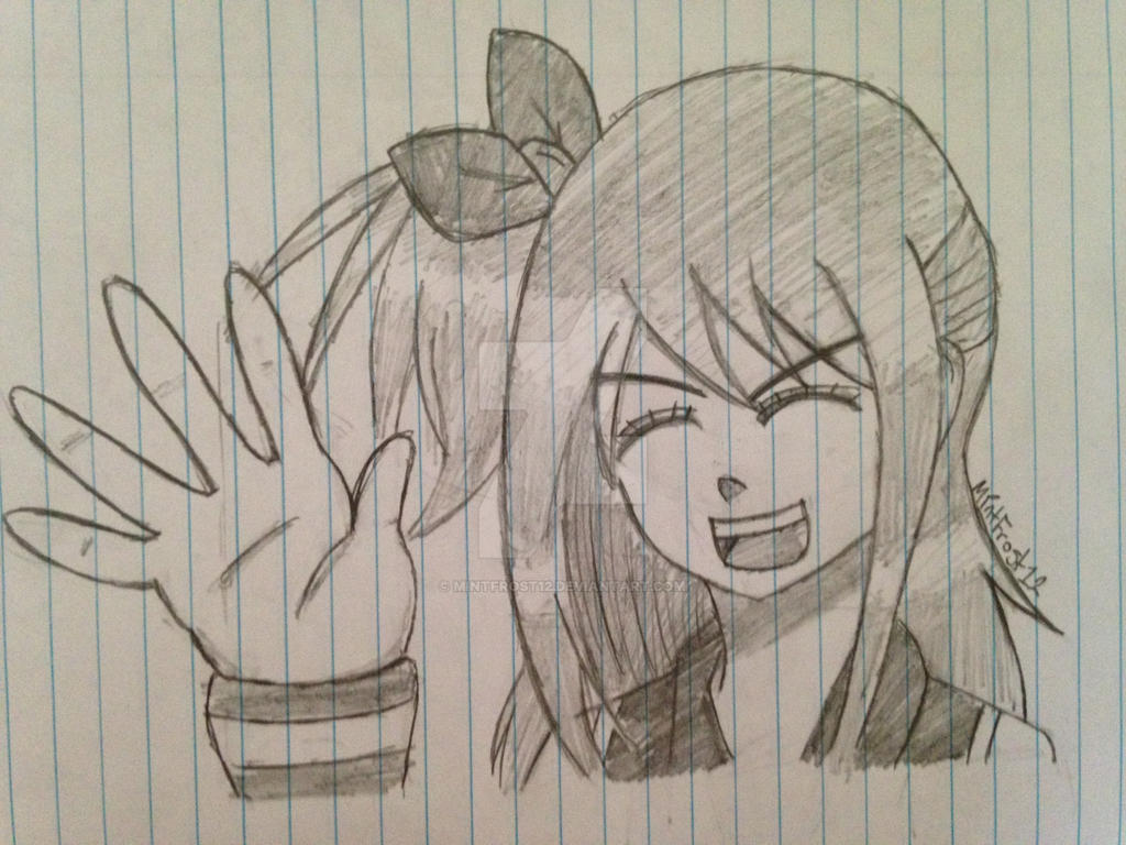 Lucy Heartfilia ((Sketch)) by MintFrost12
