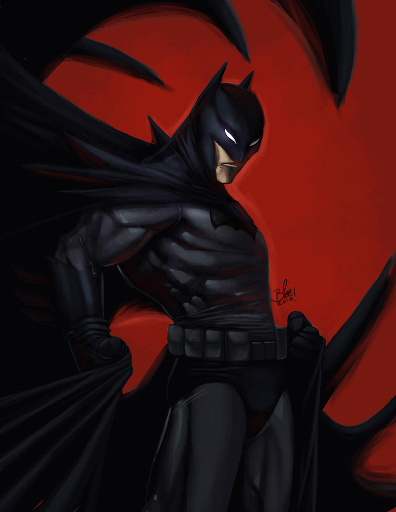BATMAN by toonfed