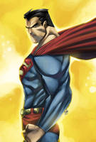 SUPERMAN by toonfed