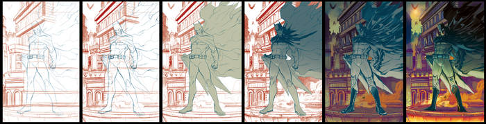 Batman 75 step by step