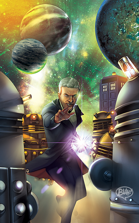 Doctor Who by toonfed