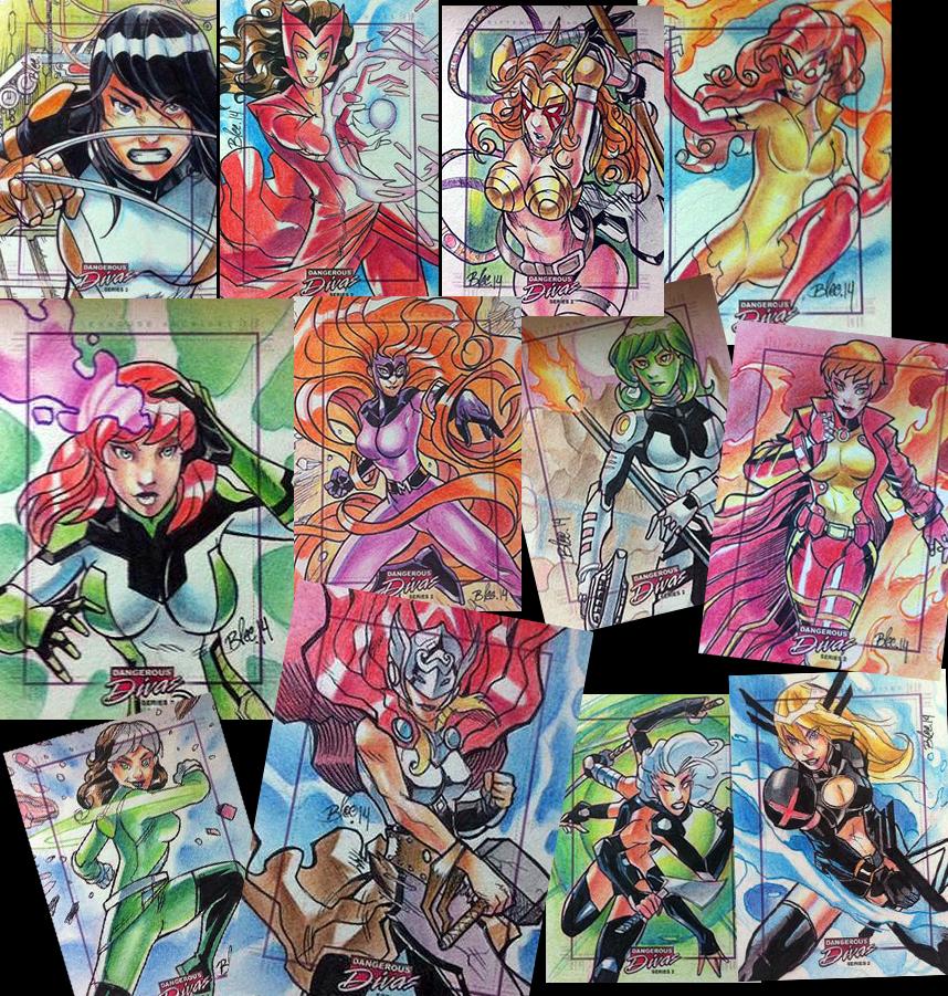 Marvel Dangerous Divas2 by toonfed