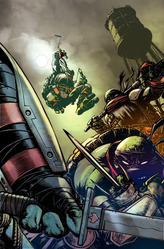 TMNT color by toonfed