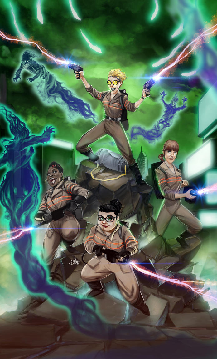 Ghostbusters 2016 by toonfed