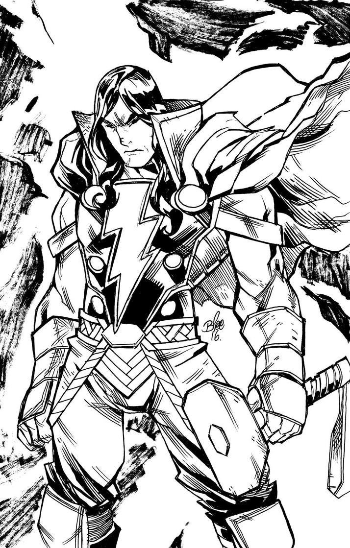 Thor Shazam by toonfed