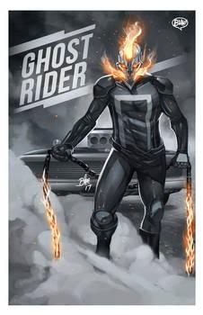 Ghost Rider Print
