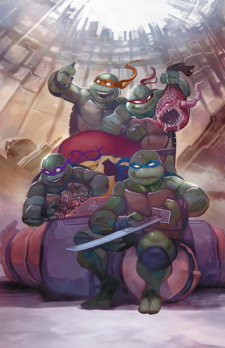 TMNT poster by toonfed