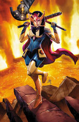 Big Barda  by toonfed
