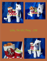 Licks the KFC pony by NorthernElf