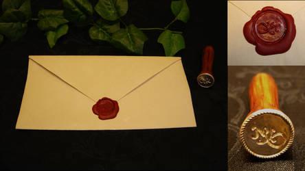 Wax seal by karinma