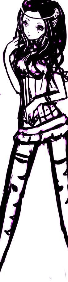 sketch for Coralie-Tsukihimne