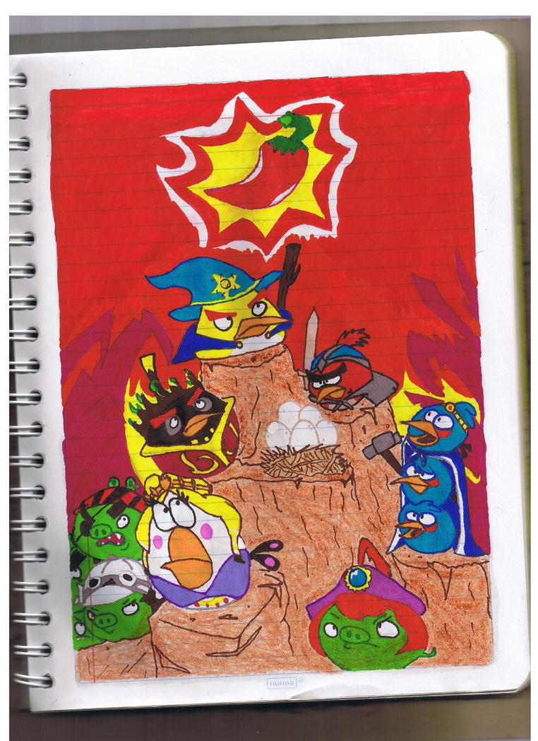 angry birds: the stick of truth by twitterfan